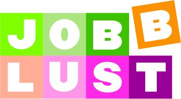 Jobblust logotyp och form jobblust.nu
