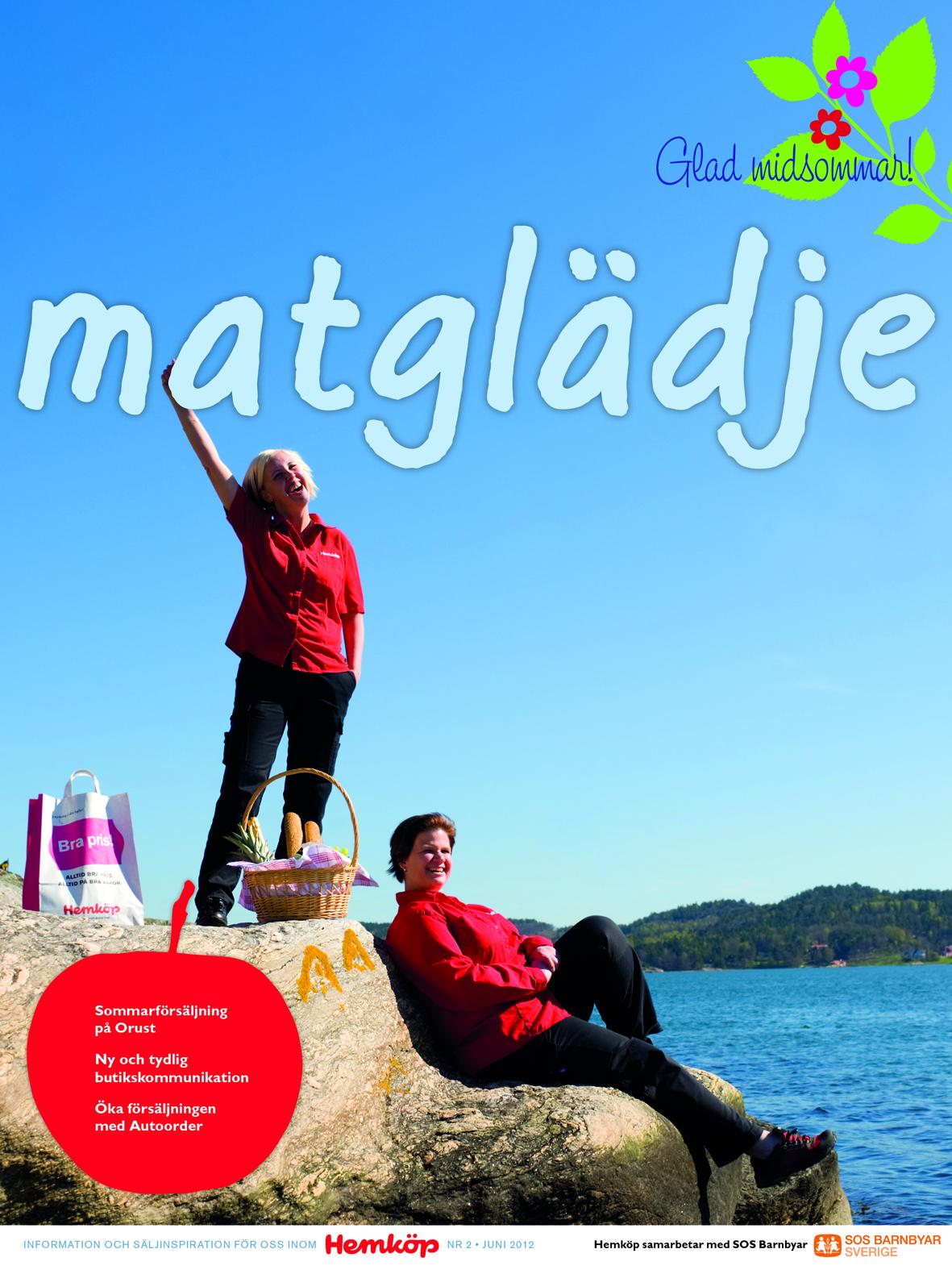 Hemköps interntidning Matglädje, höstnumret 2012