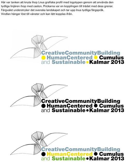 Culumus Designkonferens Linnéuniversitetet Kalmar/Växjö 2013