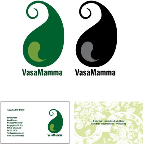 Vasamamma – Logotyp + ny grafisk profil