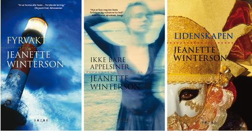 Bokomslag Jeanette Wintersons omtalade böcker